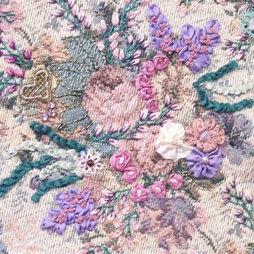 The Store On The Corner Silk Ribbon Embroidery