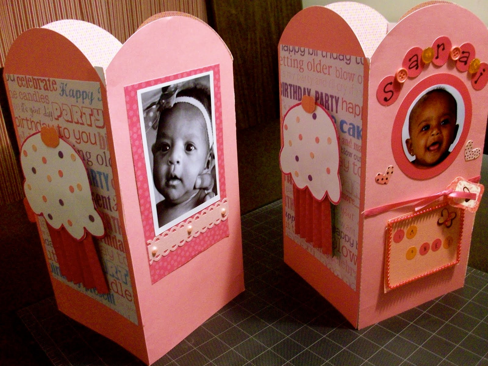 Cherise's {Creative} Pieces: 1st birthday centerpieces