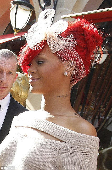 rihanna red hair now. rihanna red hair now. rihanna