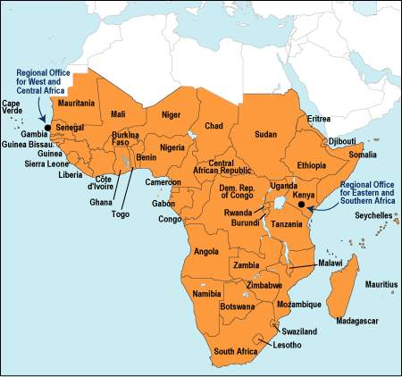 map of africa with rivers and lakes. africa+map+rivers