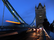 Three Images of Tower Bridge (And One of The City Through the Bridge). (towerbridge)