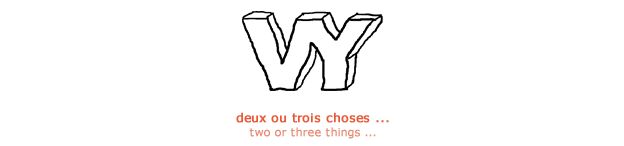 Deux ou trois choses ... - Yannick Vallet photographies - Two or three things - photographs