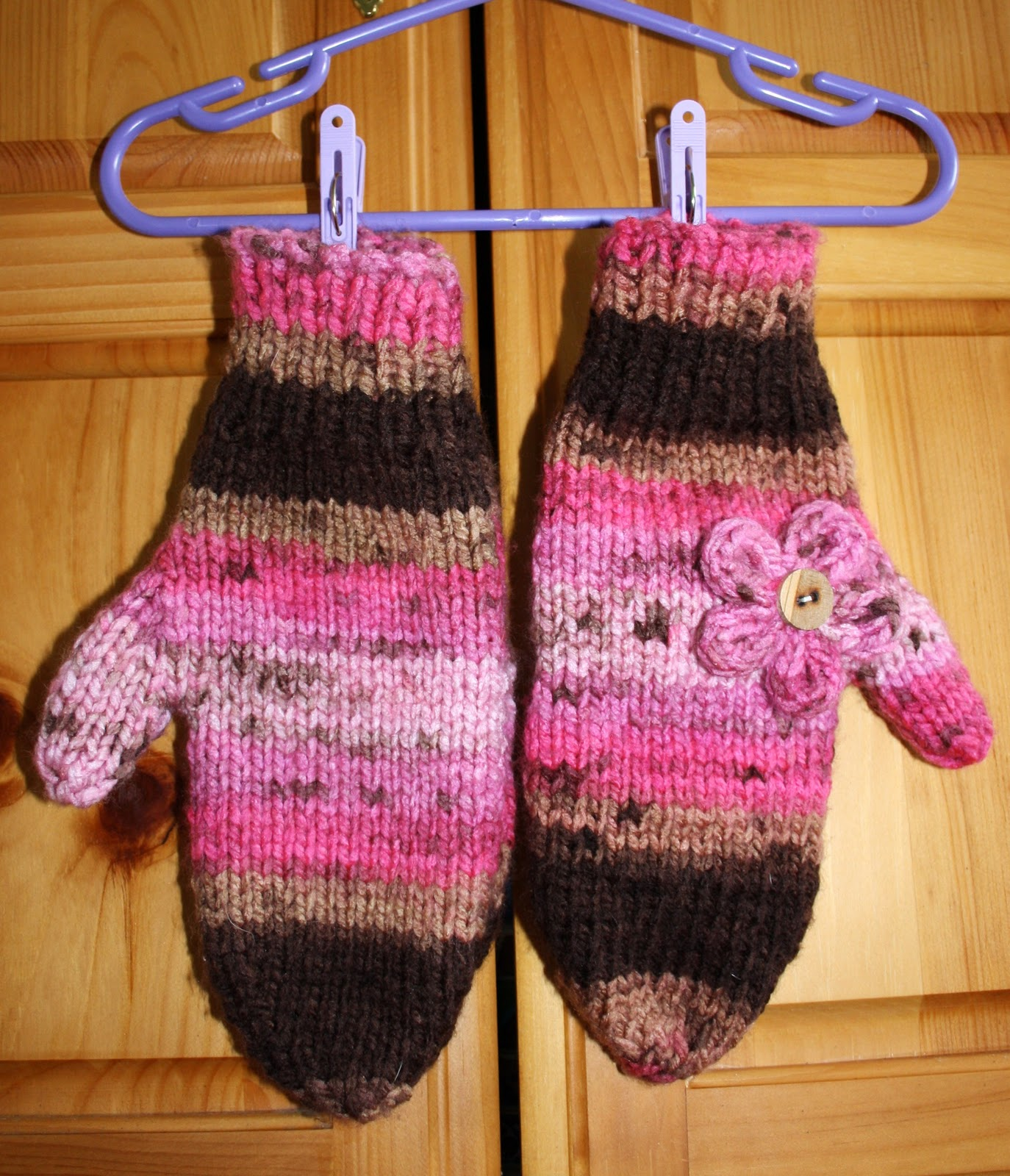 Hipknitized : Free Pattern: Chunky Knit Mittens