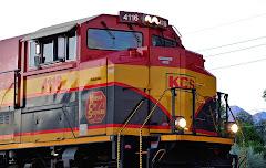 EMD SD70ACe de la KCS de Estados Unidos
