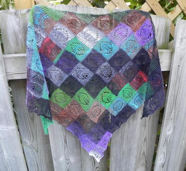 Entrelac Knitting Dishcloth Pattern : MYRTLE STATION WOOL & FERGUSONS KNITTING: CLASSES