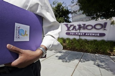 A Yahoo worker