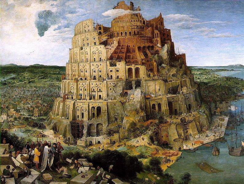 El País de los idiotas 795px-Brueghel-tower-of-babel