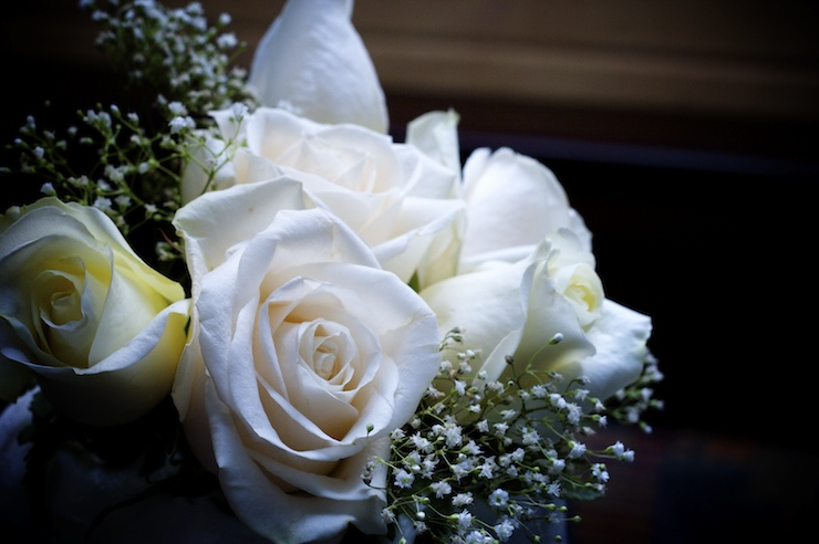 My Dreams And Hopes White Roses