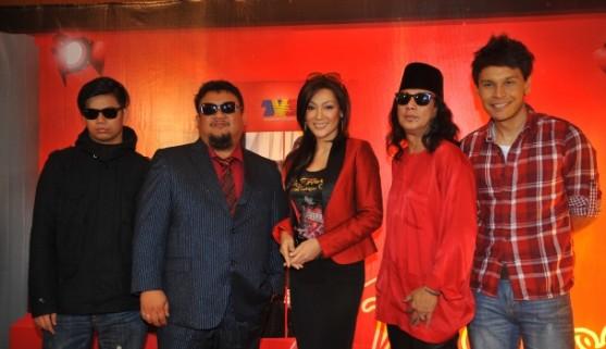 Lyric Chord Band Picture music logo foto gambar vokalis Rahim Maarof | www.lyricchord.com