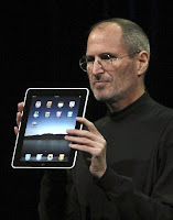 Steve Jobs, da Apple, lança o Ipad na Califórnia