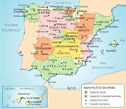 Mapa de capitales de provincias españolas (klpgeodes )