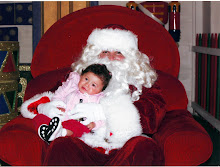 Mi Primera foto con Santa
