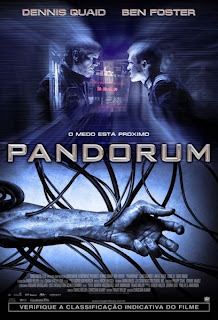 Filme poster Pandorum DVDRrip RMVB Legendado