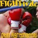 Der FIGHTtv Button zum mitnehmen