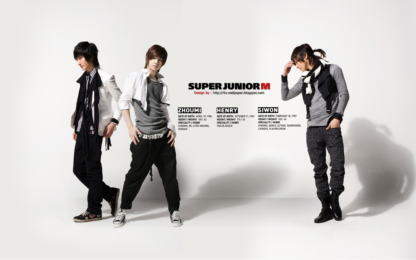 Wallpaper Super Junior M The First Album ME
