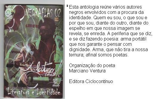 Negrafias 02 Literatura e Identidade
