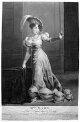 "Mlle. Mars no papel de Elmire, no ""Tartufo"" de Molière, séc. XVIII"