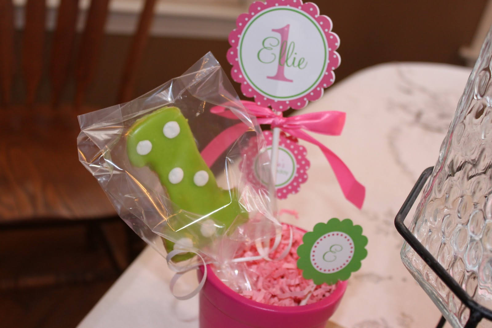 The Pitt Crew: Ellie\'s party...the decorations