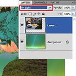 Layer Panel in Photoshop CS4 Tutorial