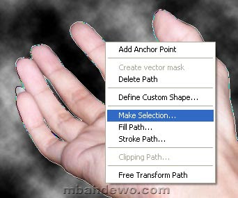 seleksi photoshop pen path 10
