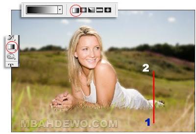 tutorial Photoshop memberi efek blur pada sebagian gambar
