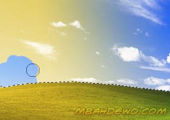 gambar tutorial efek foto 2 warna 10