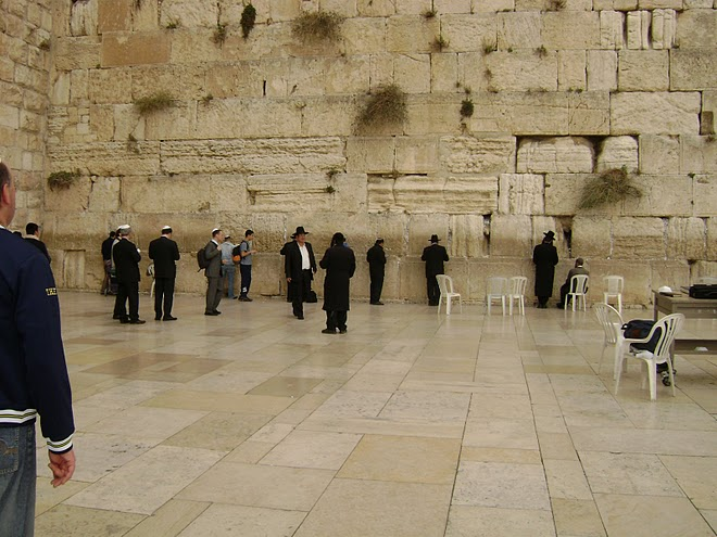 JERUSALEM - The Western Wall - Judaism's most holy site. / @JDumas