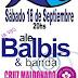 Ale Balbis & banda + Cruz Maldonado tocan en el Parque Centenario