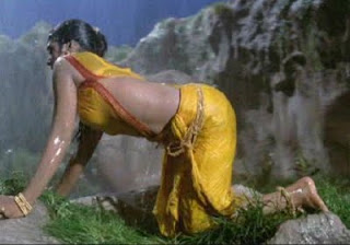south indian sexy actress bhanupriya droping saree wet ang deep cleavage image gallery