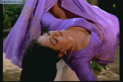south indian mallu actress bhanupriya wet saree removing hot image gallery