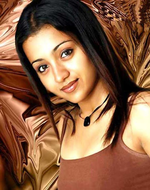 south indian mallu actress trisha krishnan hot and sexy wet image gallery