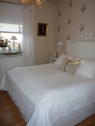 Vårt sovrum.......