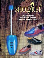 ShoeTree,alat perawat & peregang sepatu