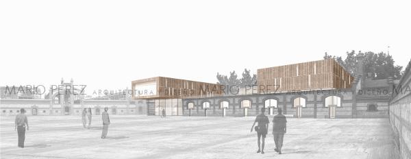 Mario p rez arquitecto pfc museo del desastre ii etsam - Ets arquitectura madrid ...