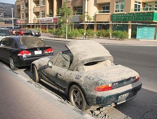 Ex 183 Tenso Carros Abandonados Em Dubai