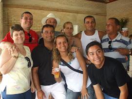 Rossi e Heloisa- Chico e Magda, Rony , Carlinhos,Jotinha e Patricia, Danilo