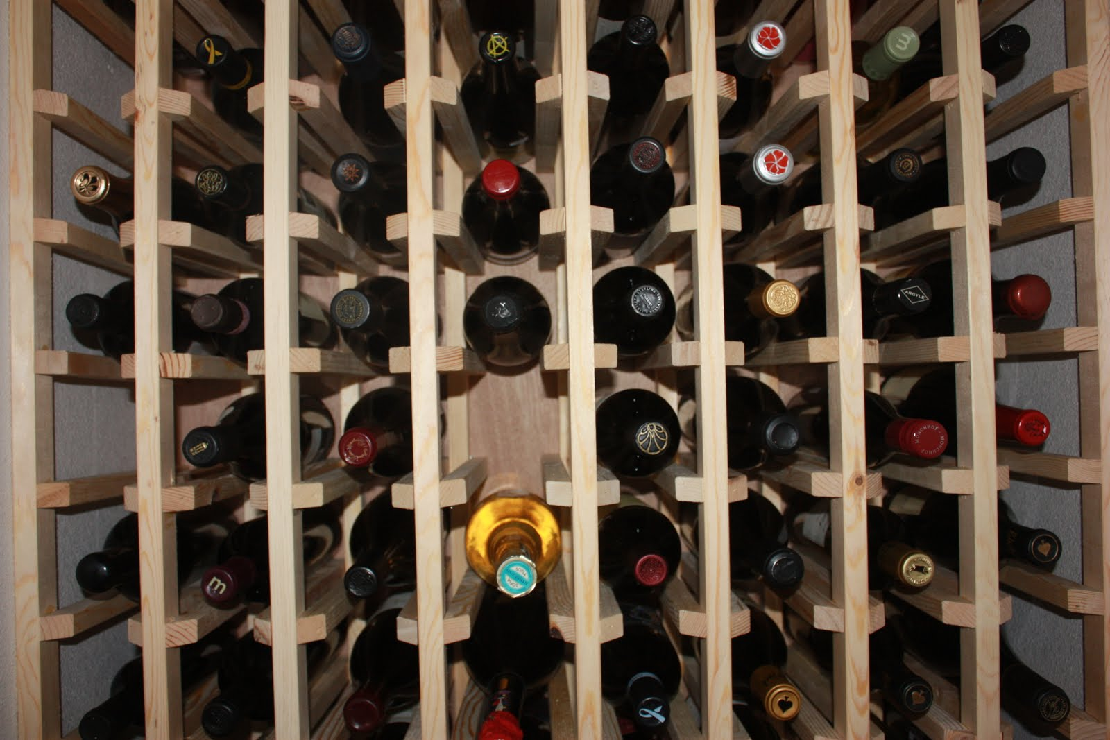 wine rack plans to build