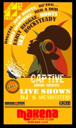 CaPTiVe ReGGaE SeSSioNs