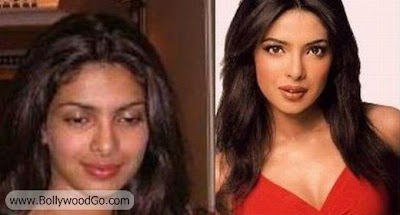 Priyanka+Chopra++Without+Makeup+BollywoodGo Bollywood Actress is Ugly?