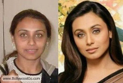 Rani+Mukherjee+Without+Makeup+BollywoodGo Bollywood Actress is Ugly?