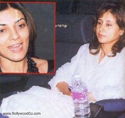 UrmilaMatondkar&ampSushmitaSenWithoutMakeupBollywoodGo - Bollywood Actresses Without Makeup