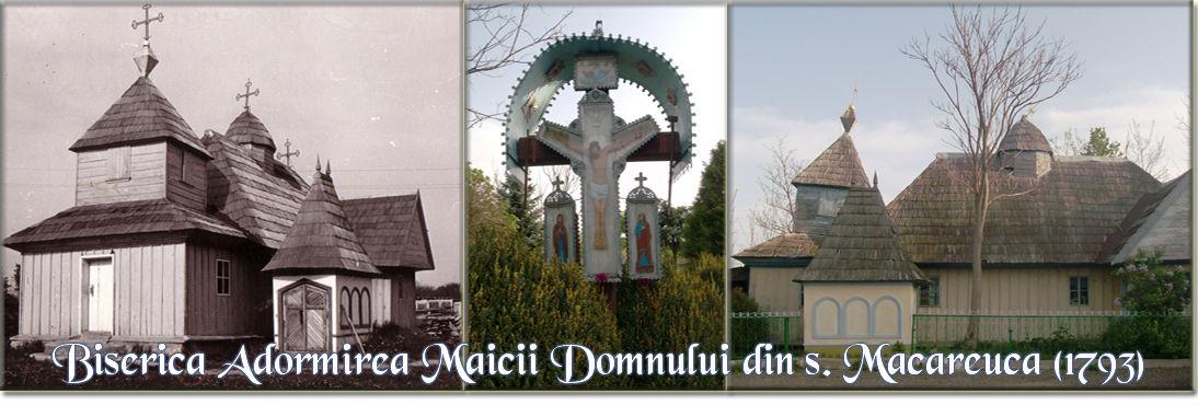 Biserica din satul Măcăreuca cu Hramul Adormirea Maicii Domnului