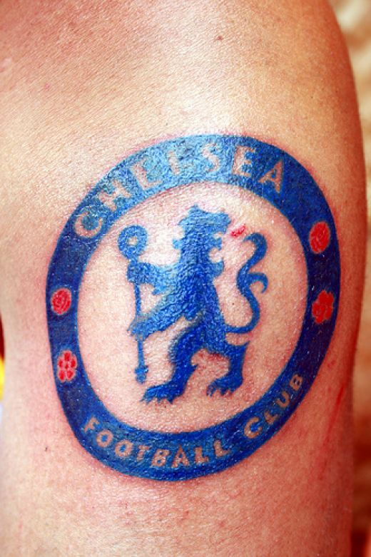 Chelsea F.C football Tattoos Liverpool F.C football Tattoos