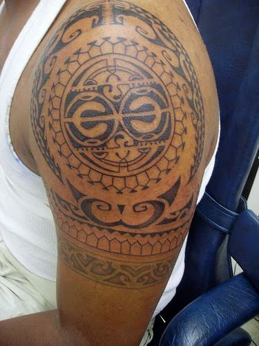 polynesian tribal Done