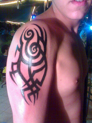 Tribal Tattoo Flash. Polynesian tattoos are an