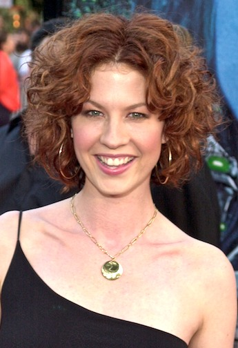 Short Curly Hair Color. Her hair color is reddish