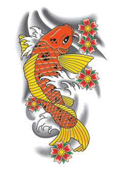 New Collection Tattoos Koi Fish Tattoo