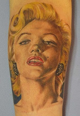 Marilyn Monroe Tattoo Design