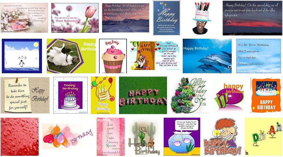 Happy Birthday Free Ecards