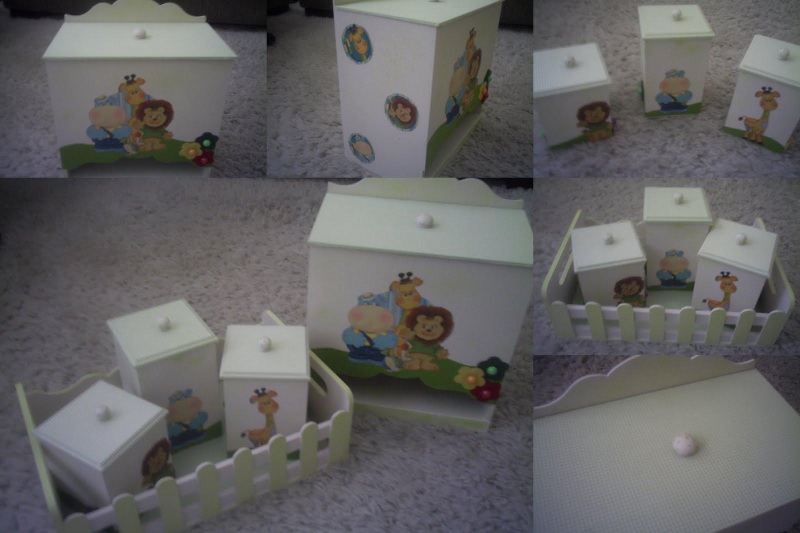 Criatividade e Arte 137  Kit de bebê  Zoo